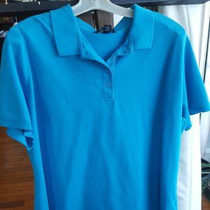Lands End classic fit polo shirt short sleeve 1X